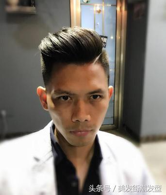 脸小又比较长的男生适合什么发型  小脸男的适合什么发型图片