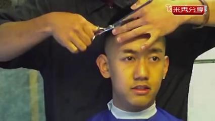男生发型剪发