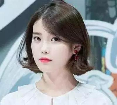 脸大头发少适合什么短发剪发发型图片  脸很长的女生适合什么中短发型图片