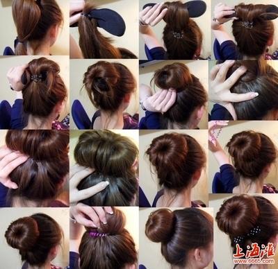 女生发型教学