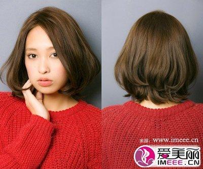 女生发型中短发
